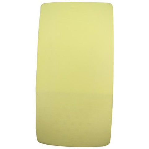 BabyPrem Nursery Bedding 1 Fitted Cotton Cradle Mattress Sheet 17 x 33 LEMON