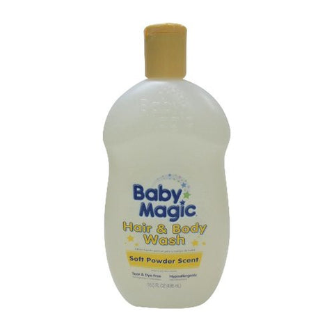 Baby Magic Gentle Hair & Body Wash, 16.5-Ounce
