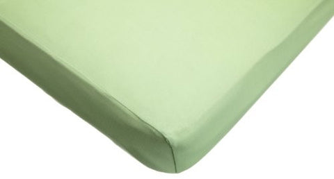 American Baby Company Supreme Jersey Knit Fitted Crib Sheet, Apple Green