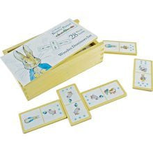 Beatrix Potter Traditional Wooden Dominoes Set