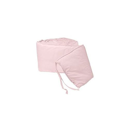 BabyDoll Tailored Baby Cradle Bumpers, Pink, 18 x 36