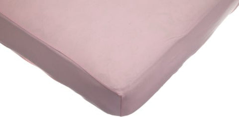 American Baby Company Supreme Jersey Knit Fitted Crib Sheet, Pink
