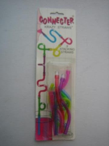 8 Stacking Straws Connecter Krazy Straws