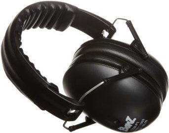 Baby Banz earBanZ Kids Hearing Protection, Black