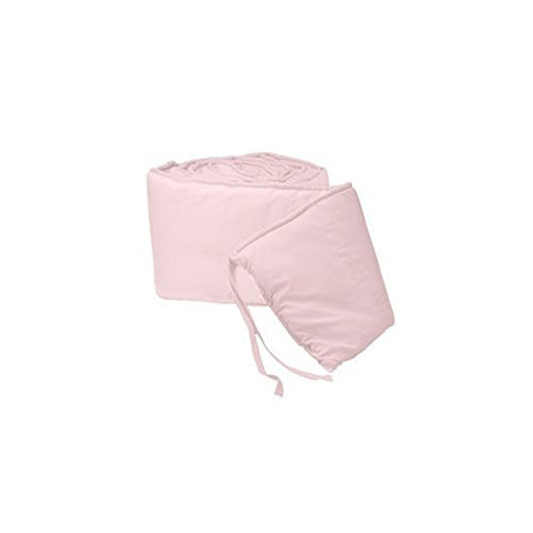 BabyDoll Tailored Baby Porta Crib Bumpers, Pink, 24x38