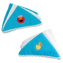 Baby Washcloths ~ Elmo