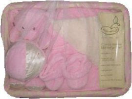 5-Piece Deluxe Blanket Gift Set in Pink