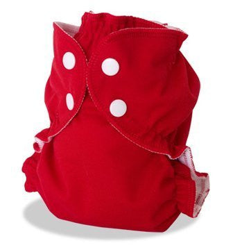 Apple Cheeks Envelope Cloth Diaper Cover, Cherry Tomato