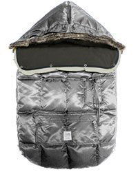7 A.M. Enfant Le Sac Igloo 500 Bunting in Gray (large)