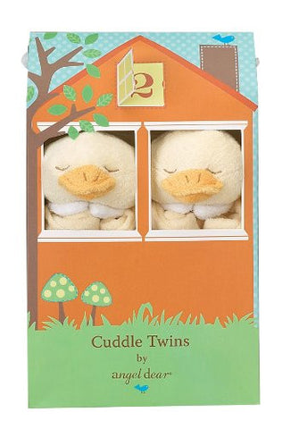 Angel Dear Cuddle Twin Set, Yellow Duck