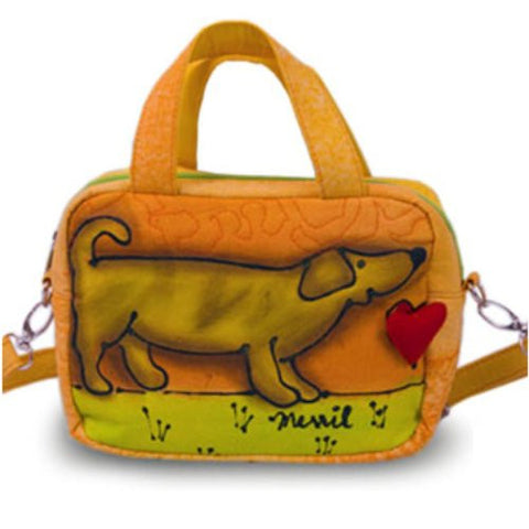 Bright Bags Brightworld Shoulder Tote Bag, Puppy, Small