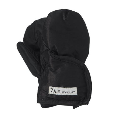 7AM Enfant Classic Mittens 212, Black, X Large