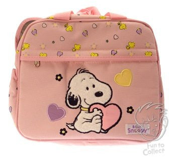 Baby Snoopy Pink Bottle Bag