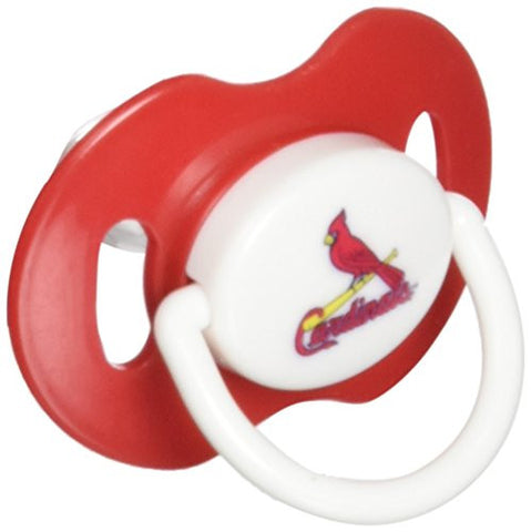 Baby Fanatic Pacifier with Clip, Minnesota Twins