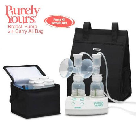 Ameda Breastfeeding Products Purely Yours Breast Pump with Carry All & AC Adapter (EW17077) Category: Breast Pumps And Supplies