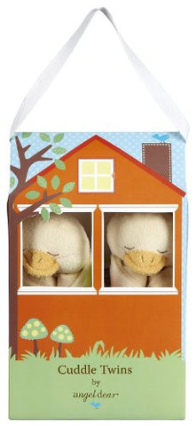 Angel Dear Cuddle Twins Blankies Gift Box. (Yellow Ducky)