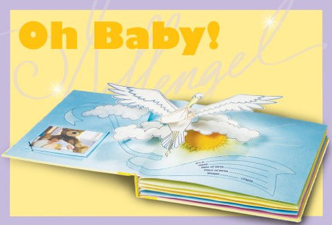 Baby Pop-Up Photo Album by Goffengel Workshop