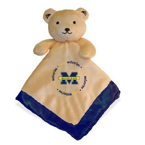 Baby Fanatic Security Bear Blanket, University of Michigan