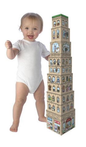 Attack of the 50 Foot Baby Stacking Blocks