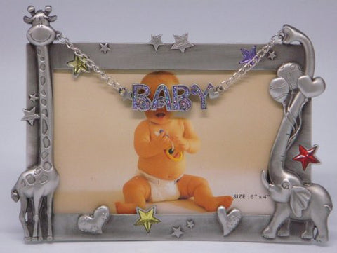 6×4 Baby with Giraffe & Elephant (Item # 209)