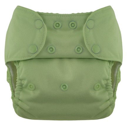 Blueberry Deluxe Diaper Snaps, Meadow Green