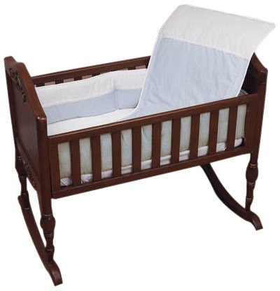 Baby Doll Bedding KingdomMini Crib/  Port-a-Crib Bedding Set, Blue