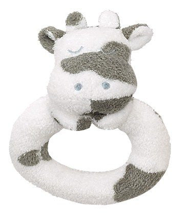 Angel Dear Ring Rattle Cow