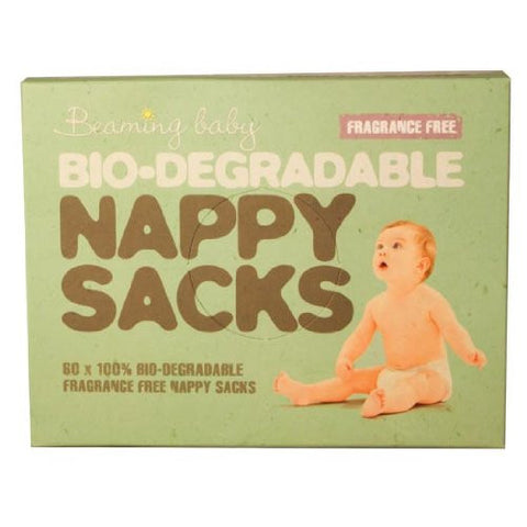 Beaming Baby Bio-degradable Nappy Sacks FRAGRANCE FREE