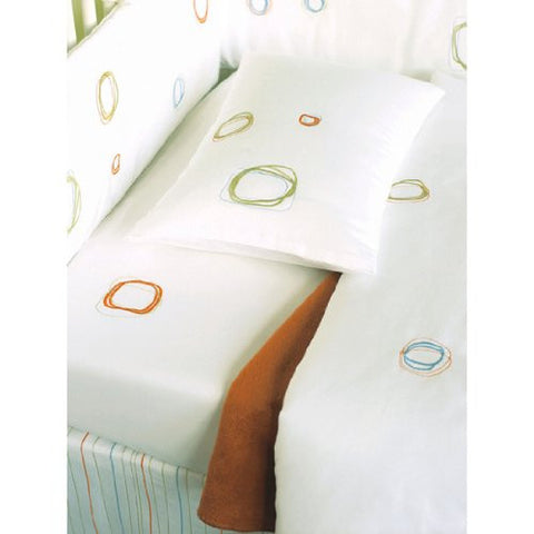 Area White Mini Baby Organic Quilt Set