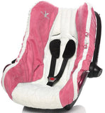 Baby Infant Car Seat Cover, Sweet Pink