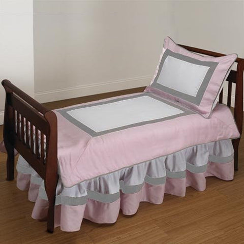 Baby Doll Bedding Classic II Toddler Bedding Set, Pink
