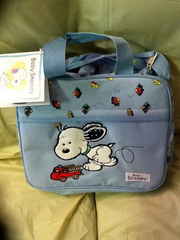 Baby Snoopy Cooler Bag Mini Blue New