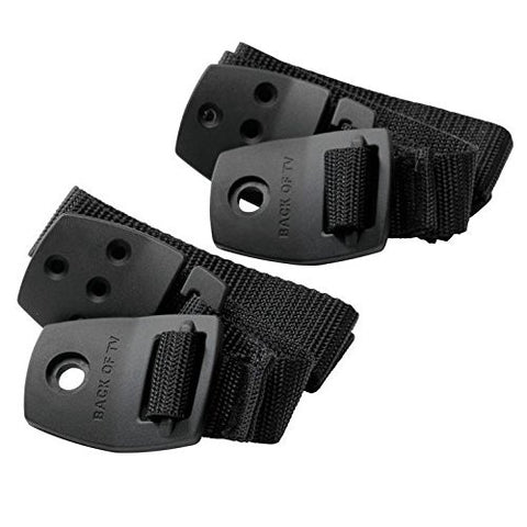 BabyDan Safety Anti-Tip TV Strap 2pk - Black
