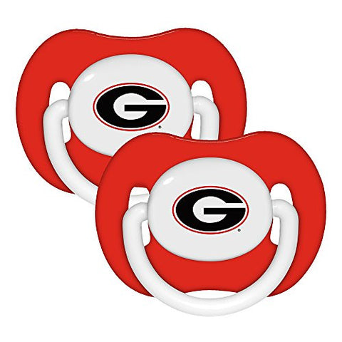 Baby Fanatic Pacifier  - Georgia University Team Colors