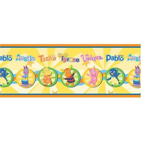 Backyardigans Wall Paper Border