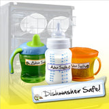 Baby Bottle Labels, Self-laminating - Great for Daycare