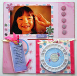 Baby Tooth Organizer for Photo Album & Scrapbook