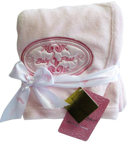 Baby Phat Plush Blanket, Oval Shaped