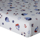 Bedtime Originals Sail Away Sheet (Discontinued by Manufacturer)