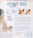 Avent Isis Breast Pump with 2 Bottles