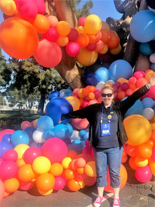 Teigan attends the World Balloon Convention in San Diego