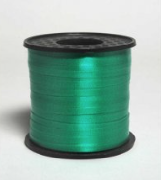 Curling Ribbon Green 460m