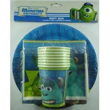 Party Pack 40 Piece Monsters Inc.