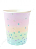 Iridescent Cup - Pack of 10 - 9OZ (300ml)