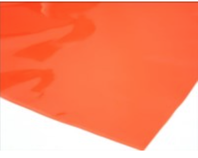 Cellophane Sheet Solid Colour Red