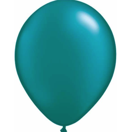 Pearl Teal Latex Balloons Pack of 25