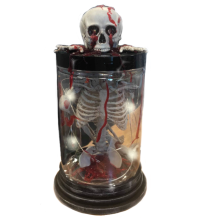 Hell Fire Skeleton - Table Decor