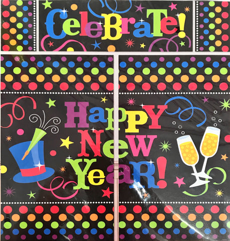 Wall Decoration Kit Happy New Year