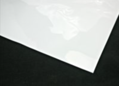 Cellophane Sheet Solid Colour White