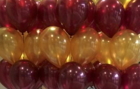 HELIUM-filled balloon bundles QLD